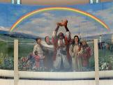 成吉思汗壁画